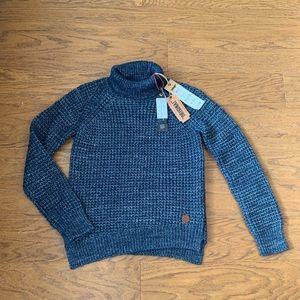 Khujo Blue Knit Sweater